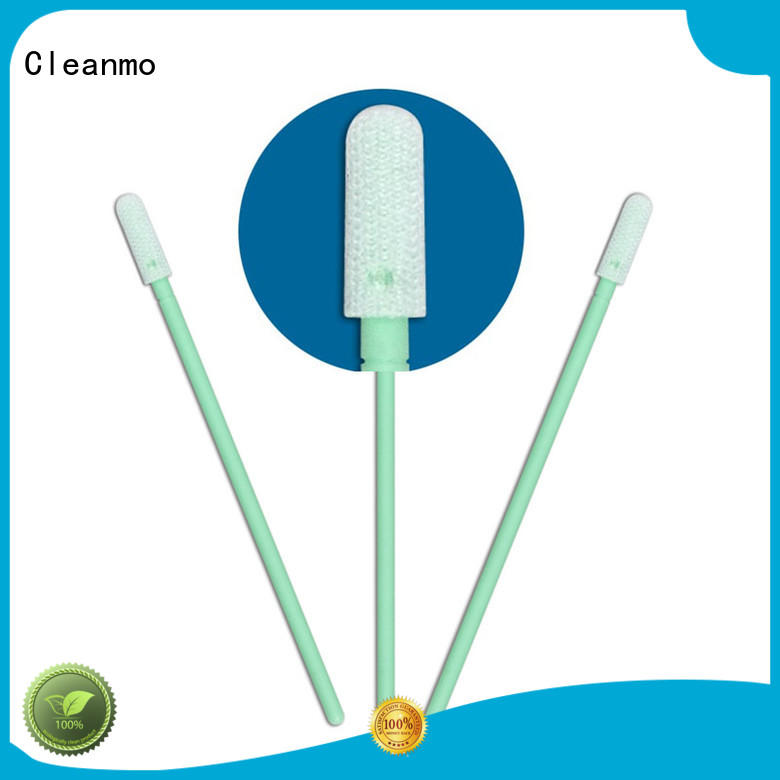 safe material texwipe polyester swabs flexible paddle supplier for general purpose cleaning