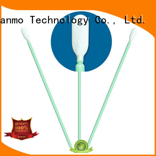 Cleanmo double layers of microfiber fabric sensor swab manufacturer for Micro-mechanical cleaning