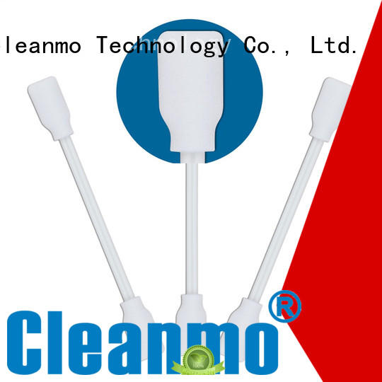 Cleanmo small ropund head ear swab manufacturer for Micro-mechanical cleaning