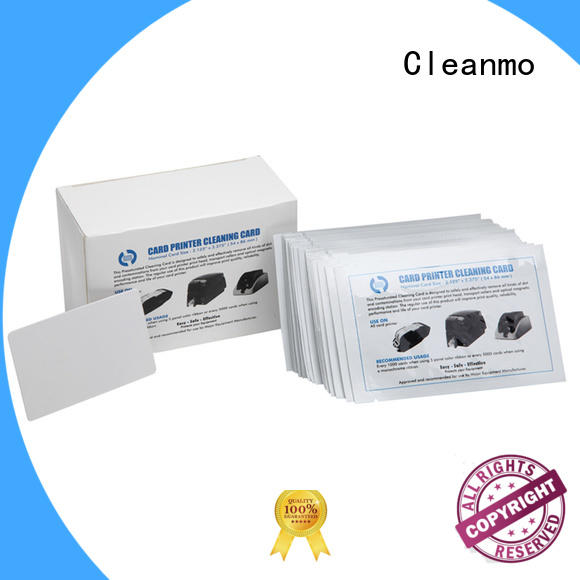 Cleanmo cost-effective credit card cleaner factory price for Smart Card Readers