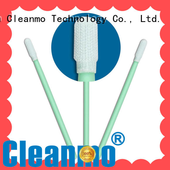 high quality esd swabs double-layer knitted polyester wholesale for microscopes