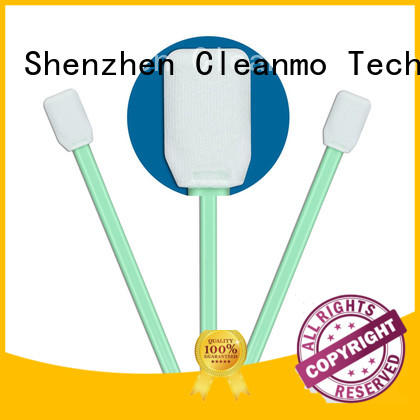 Cleanmo Polypropylene handle dslr sensor cleaning swabs manufacturer for general purpose cleaning