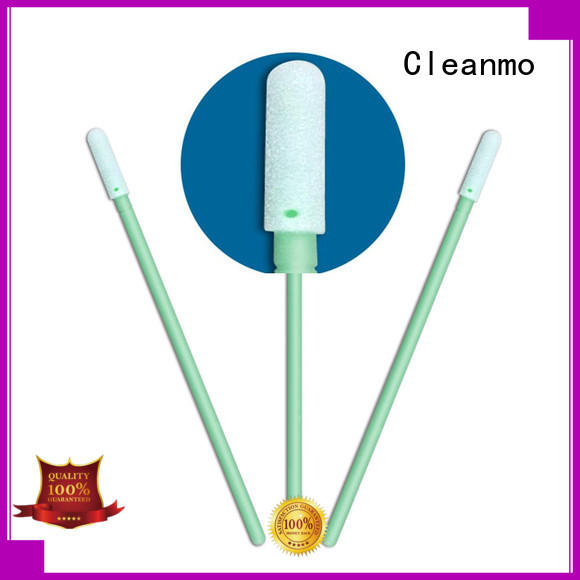 Hot silicone medical mouth swabs foam Cleanmo Brand