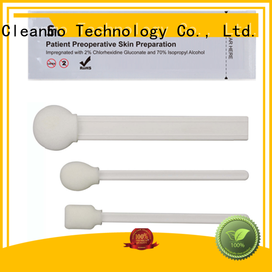Cleanmo latex-free alcohol swab use 70% isopropyl alcohol (IPA) liquid for Surgical site cleansing after suturing