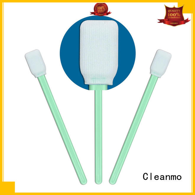 Cleanmo polypropylene handle long swabs manufacturer for microscopes