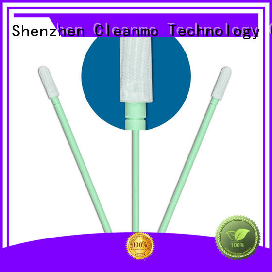Cleanmo compatible dacron polyester swabs manufacturer for microscopes