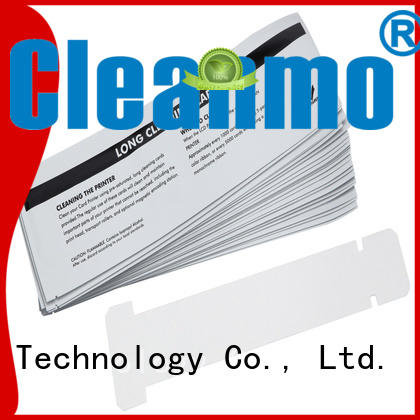 Cleanmo disposable zebra cleaners wholesale for ID card printers