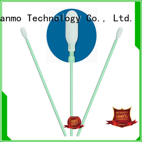 Cleanmo good quality esd swabs factory for general purpose cleaning