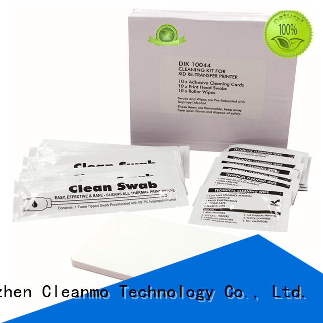 good quality Matica DRY Cleaning Cards PVC supplier for card printer