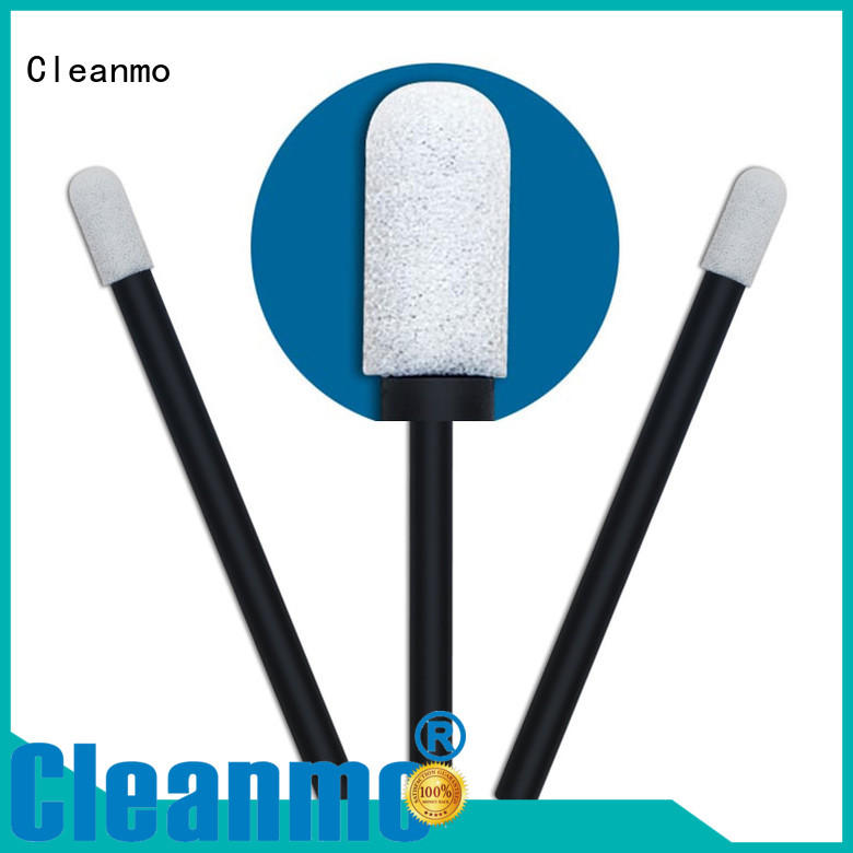 Cleanmo ESD-safe Foam Cleaning Swabs ESD-safe Polypropylene handle for general purpose cleaning