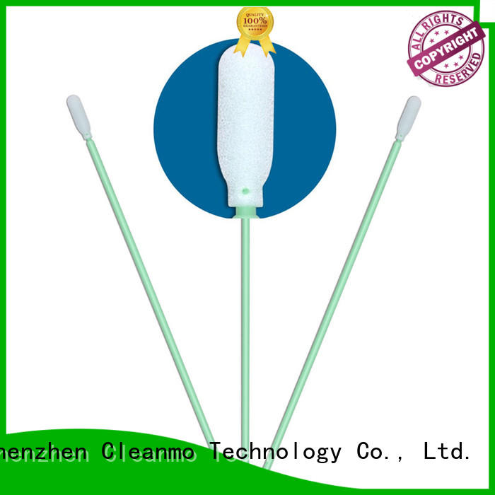 affordable long q tips precision tip head factory price for Micro-mechanical cleaning