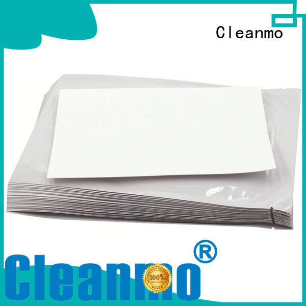 Cleanmo quick evolis cleaning kits factory price for ID card printers