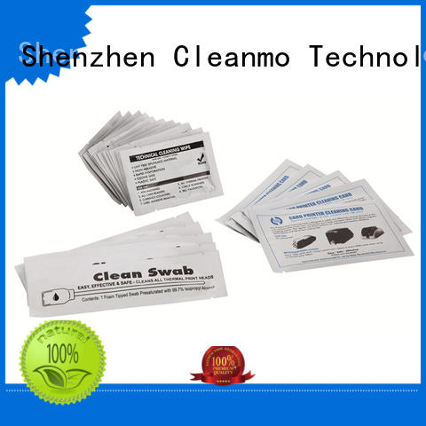 Cleanmo Hot-press compound Evolis Cleaning Pens factory price for ID card printers