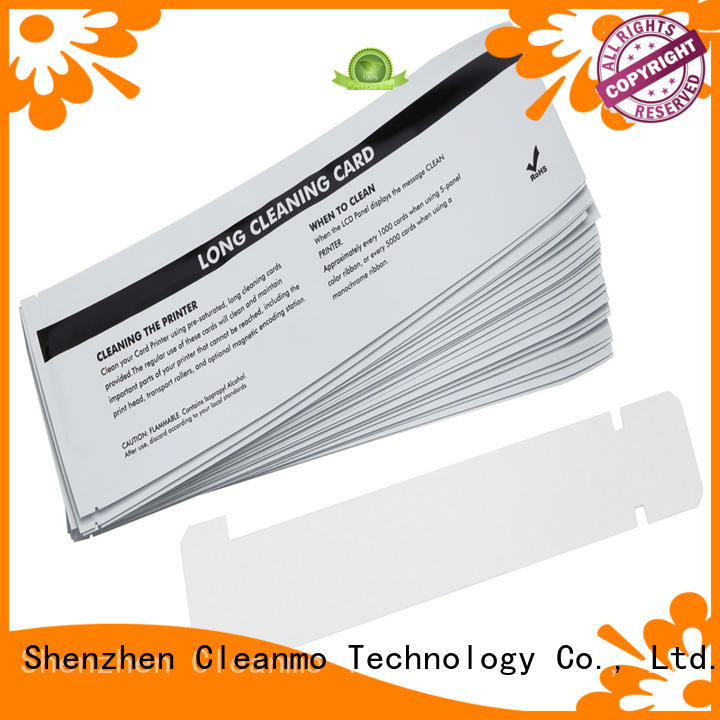 disposable zebra printer cleaning T shape supplier for Zebra P120i printer