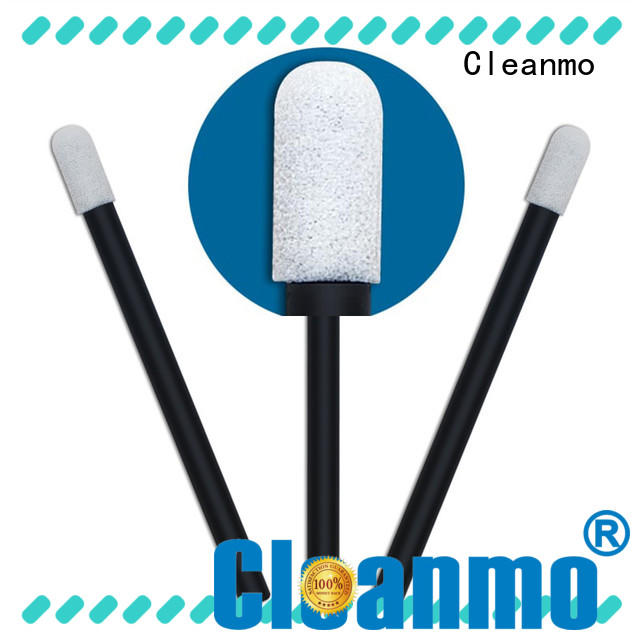 affordable mouth cleaning swabs ESD-safe Polypropylene handle wholesale for Micro-mechanical cleaning