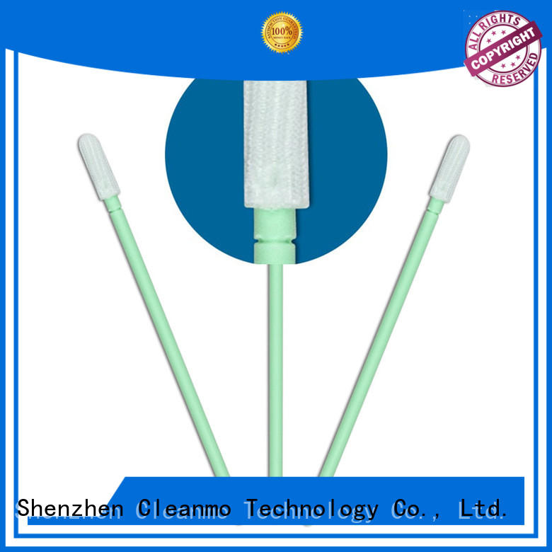 Cleanmo polypropylene handle dacron swab manufacturer for microscopes