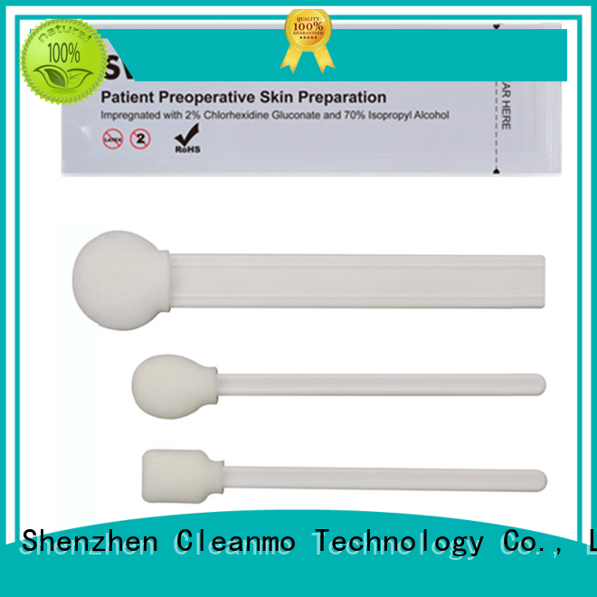 Cleanmo good quality ipa swabs factory price for Routine venipunctures
