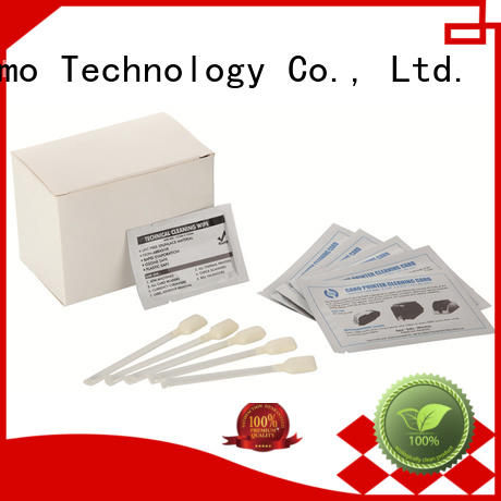 Cleanmo convenient evolis cleaning kits wholesale for ID card printers