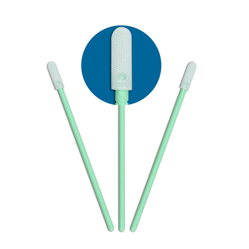 Cleanmo Polypropylene handle clean tips swabs supplier for general purpose cleaning-1