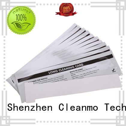 Cleanmo quick printer cleaning supplies wholesale for ID card printers