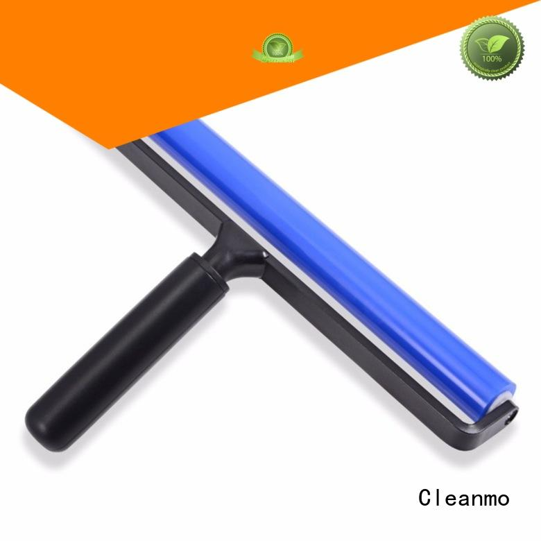 Cleanmo Black Plastic lint roller manufacturer for LCD screen