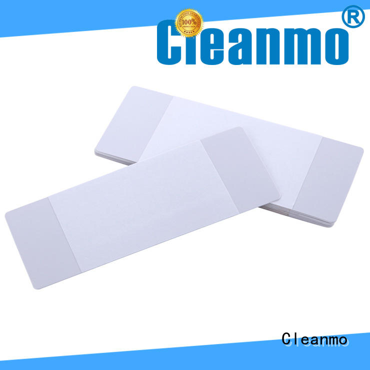Cleanmo Electronic-grade IPA Snap Swab Evolis Cleaning Pens wholesale for ID card printers