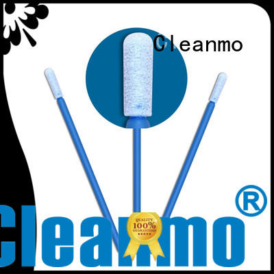 ESD-safe cotton tipped swabs green handle supplier for Micro-mechanical cleaning