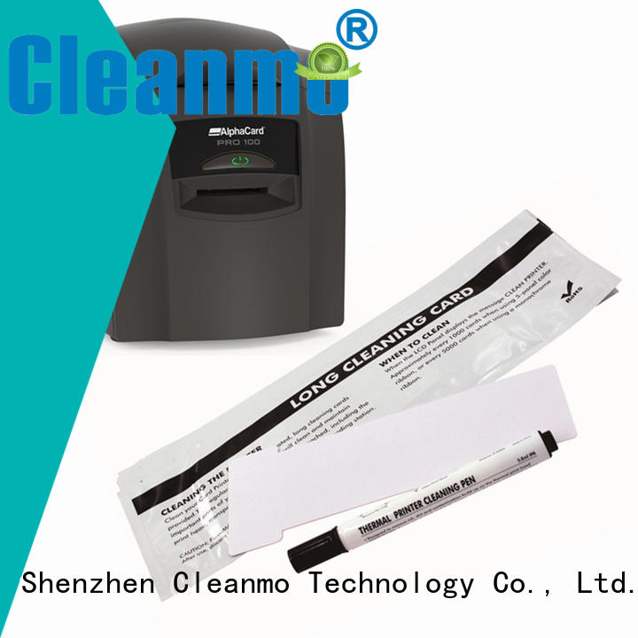Cleanmo Non Woven AlphaCard Printhead Cleaning Pens supplier for AlphaCard PRO 100 Printer