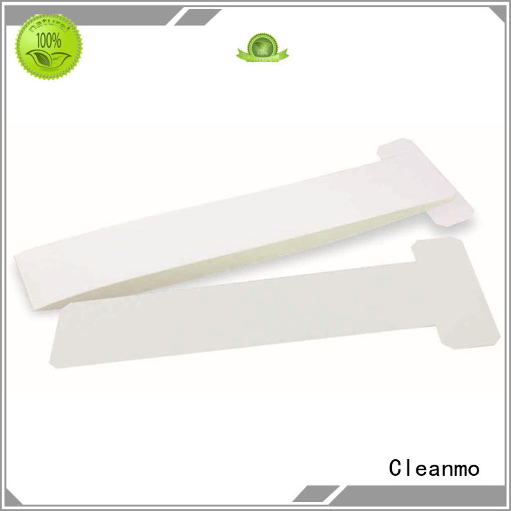 Cleanmo non woven zebra printer cleaning supplier for Zebra P120i printer