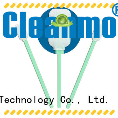 Cleanmo cost-effective clean tips swabs manufacturer for Micro-mechanical cleaning