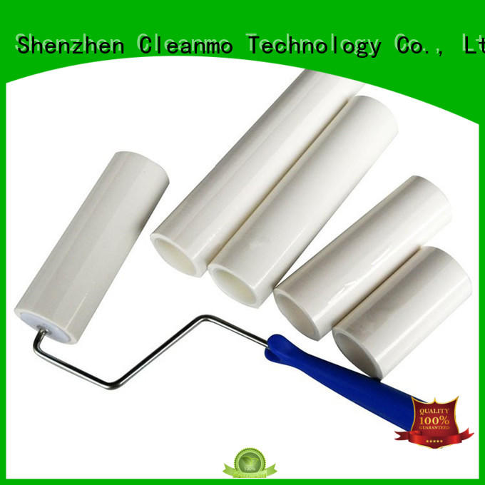Cleanmo low density polyethylene film tacky roller wholesale for semiconductor