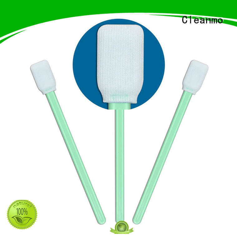 Cleanmo flexible paddle fiber optic swabs supplier for printers