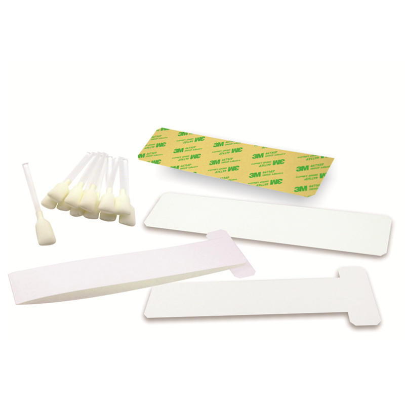 disposable zebra printhead cleaning non woven factory for ID card printers-2