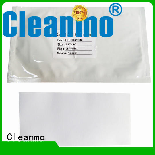 Cleanmo effective check scanner cleaning cards supplier for scanner cleaning