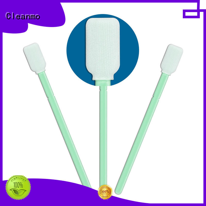 Cleanmo safe material sterile polyester swabs supplier for microscopes