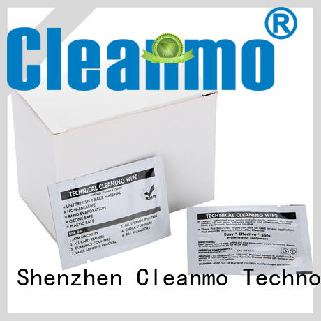 Cleanmo High and LowTack Double Coated Tape Evolis Cleaning cards wholesale for ID card printers