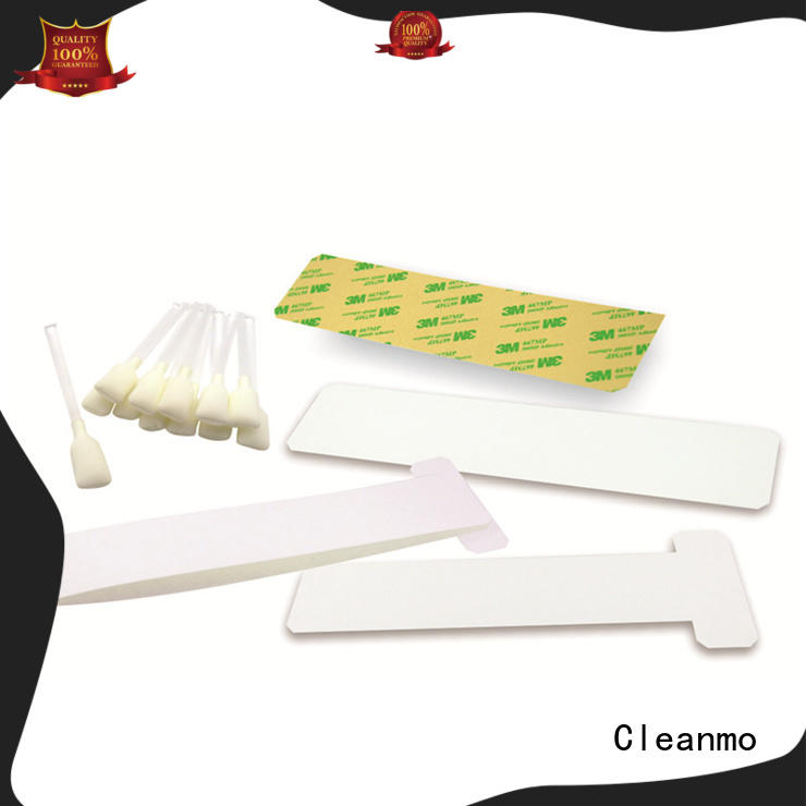 Cleanmo disposable zebra printer cleaning factory for cleaning dirt