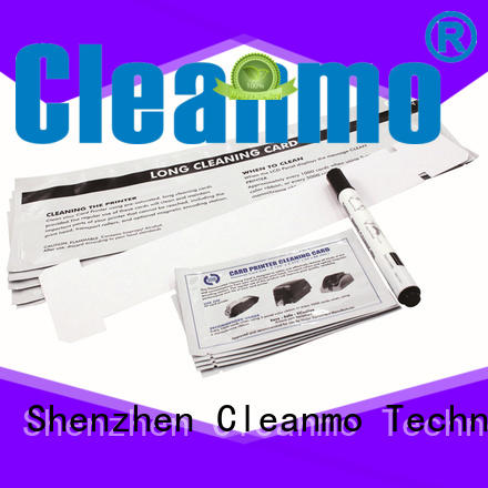 Cleanmo Non Woven Javeling cleaning cards manufacturer for J430i Printers