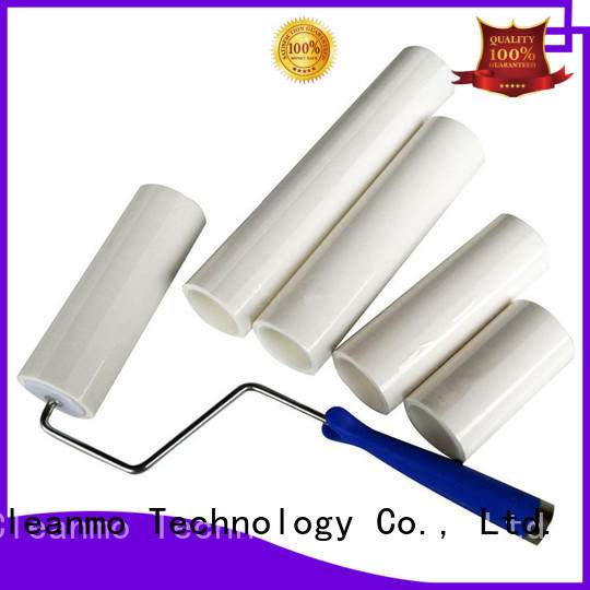 sticky roller clear protective film for cleaning Cleanmo