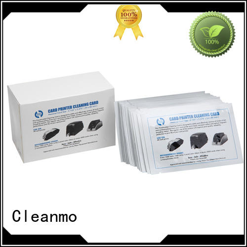 Cleanmo T shape zebra cleaning kit factory for ID card printers