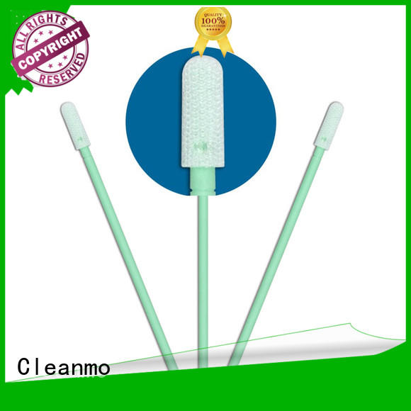 Cleanmo excellent chemical resistance polyester swab wholesale for general purpose cleaning