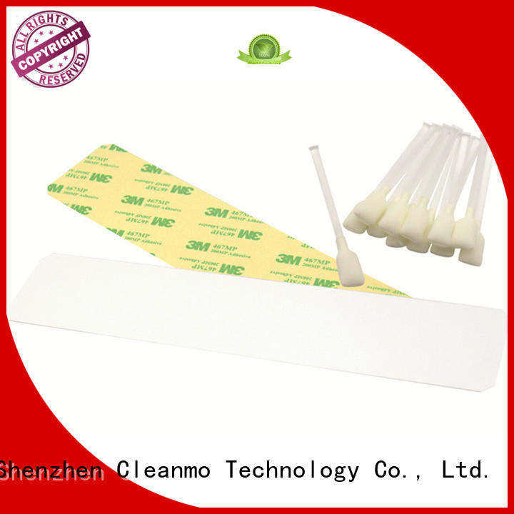 durable zebra cleaning card Aluminum foil packing supplier for Zebra P120i printer