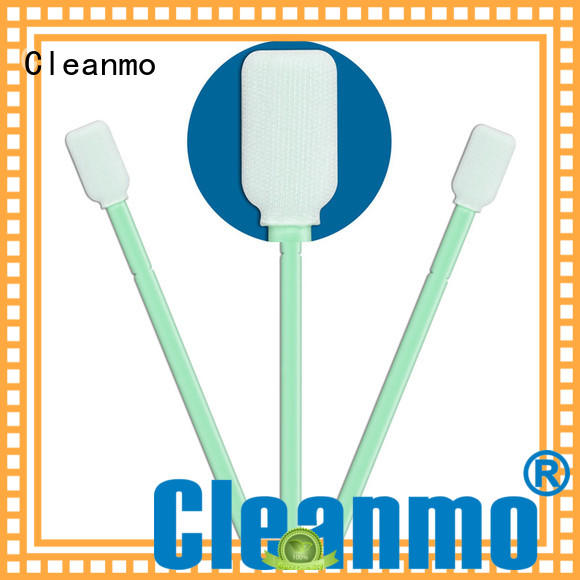 Cleanmo compatible toothette oral swabs polypropylene handle for optical sensors