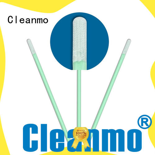 double layers of microfiber fabric Disposable Microfiber Swabs supplier for excess materials cleaning Cleanmo