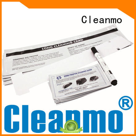 easy handling CR80 Cleaning Cards Aluminum foil packing supplier for J430i Printers