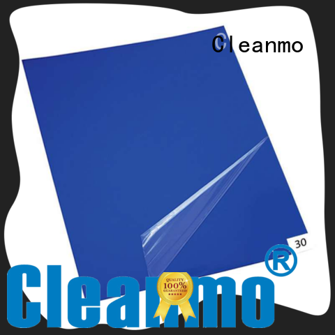 Cleanmo polystyrene film sheets adhesive mat factory direct for hospitality industry