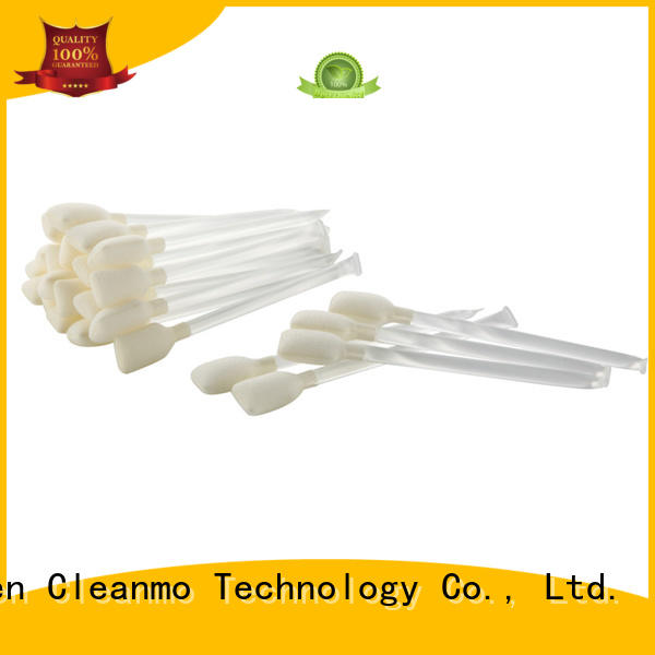 Cleanmo Non abrasive printhead cleaning swabs factory for Card Readers