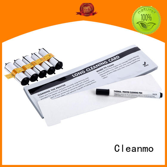 Cleanmo safe material magicard enduro cleaning kit supplier for the cleaning rollers