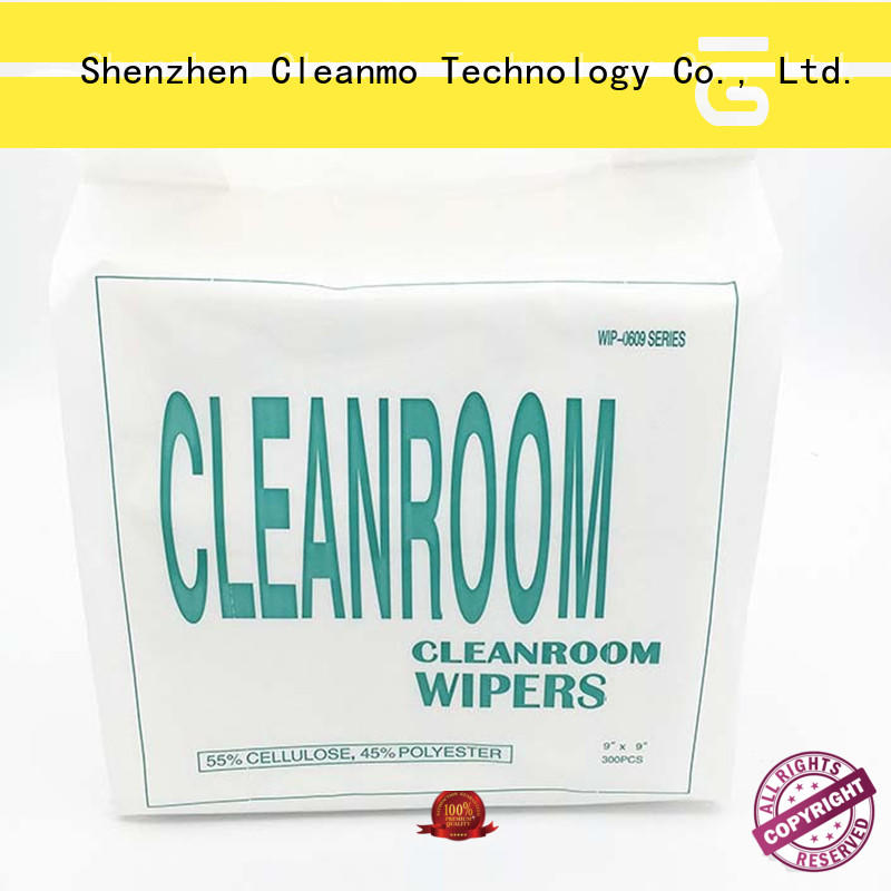 Cleanmo abrasion resistance industrial cleaning wipes manufacturer for medical device products