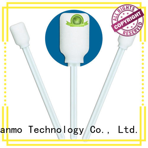 Cleanmo small ropund head cleaning swab supplier for excess materials cleaning